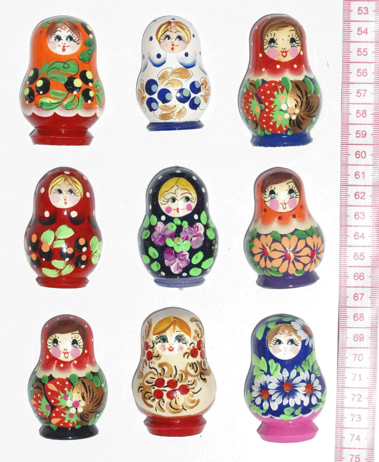 Kühlschrank-Magnete, national Handwerk von Russland zu verkaufen