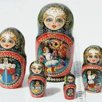 Hand painted Russian Dolls