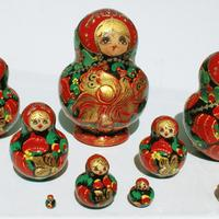 Russian doll of 10 units