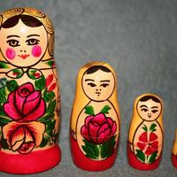 Matryoshka 4 pieces