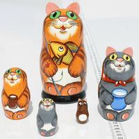 Set of 5 cats