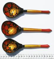 Hohloma painted spoons