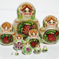 ماتريوشكا 10 قطعة