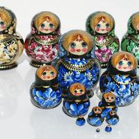 Matryoshka 10 pieces