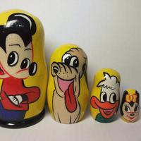 Mickey Mouse Matryoshka