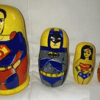 Superman matryoshka
