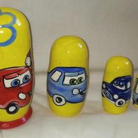 Cars matryoshka
