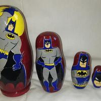 باتمان التعشيش دمى